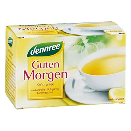 Dennree Guten Morgen Tee Im Beutel 20 Beutel Bio
