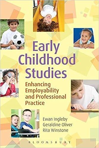 Buy Early Childhood Studies Enhancing Employability And