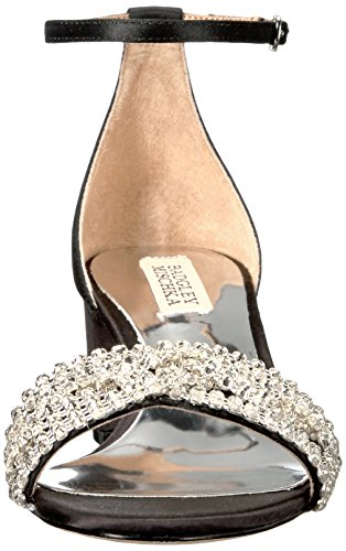 Badgley Mischka Womens Trianna Hakken Sandaal Zwart