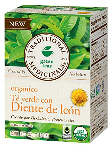 Traditional Medicinals Organic Tea, Dandelion, 16 Count