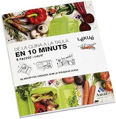 Compra Lekue - Estuche de vapor, Con bandeja y kit 10 en Catalán, Rojo, 1 - 2 personas (650 ml) en Amazon.es
