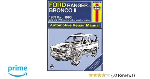 Haynes automotive repair manual ford ranger bronco ii 1983 thru haynes automotive repair manual ford ranger bronco ii 1983 thru 1992 haynes repair manuals haynes 0038345010262 amazon books fandeluxe Choice Image