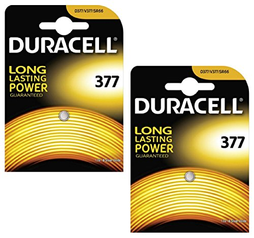 2-X-Duracell-377-SR626SW-SB-AW-AG4-155v-Silver-Oxide-Watch-Battery