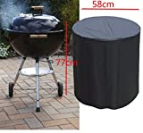 Coohole New Heavy Duty BBQ Grill Barbecue Cover Garden Patio Protector Outdoor Waterproof (23'' x 30