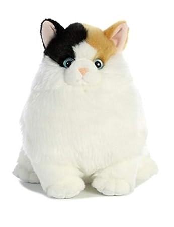 Amazon Com Ginsengtoys 10 Inch Fat Cats Munchy Calico Cat Plush