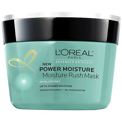 Loreal Power Moisture Rush Mask 8.5 Oz Hyaluronic Intense Moisture