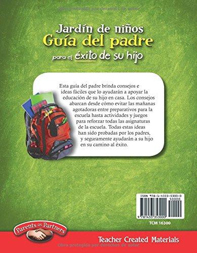Teacher Created Materials - Kindergarten Parent Guide for ...