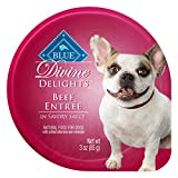 Cheap Blue Buffalo BLUE Divine Delights Small Breed Beef Formula 3 oz, Pack of 12