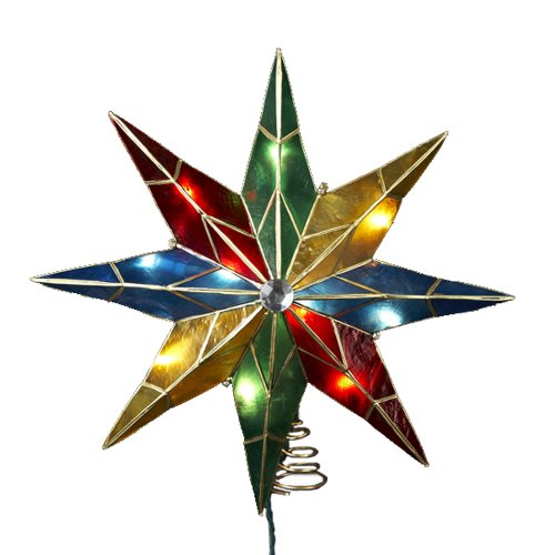 8 Point Star Ornament - 5