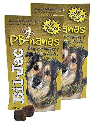 Bil-Jac PB-Nanas Dog Treats 4 oz, 2 Pack Review