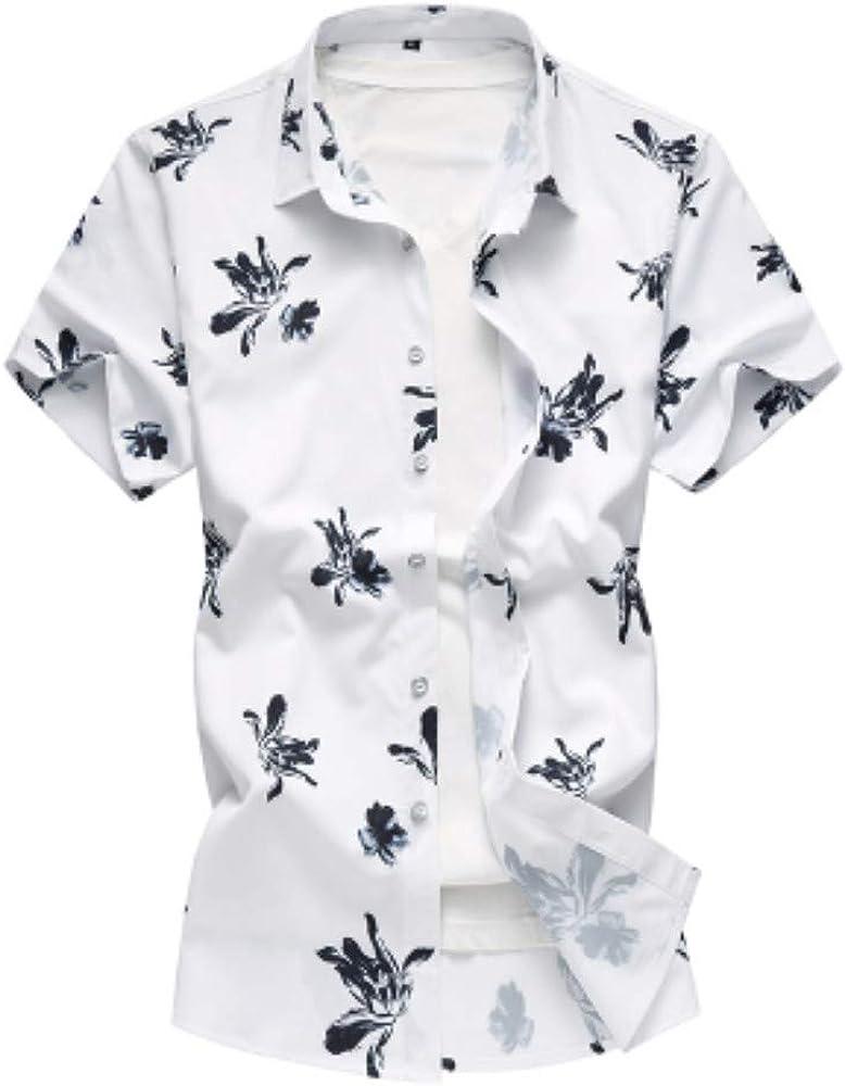 NANSHIZSCS Camisa de hombre Camisa De Hombre Casual Verano ...