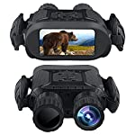 """Bestguarder Night Vision Binoculars, 4.5-22.5×40 HD Digital Infrared Hunting Scope Record 5mp Photo & 1280×720 Video with Sound by 4""""Display Up to 400m/1300ft-Upgrade Version"""