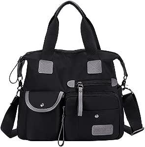 Aleola Travel Backpack, Anti Theft Slim Durable Casual Backpack , Women Shoulder Bag Nylon Bag Waterproof Casual Travel Bags Gym Bags