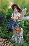 Cheap Miniature Fairy Garden Oliver with Dog