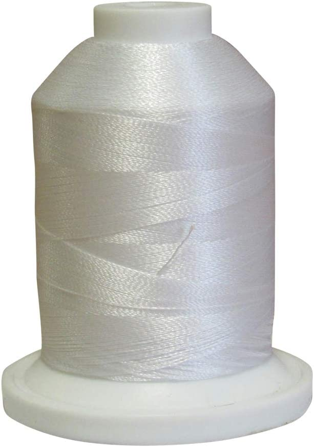 ETP001 White 1000 Meter Spool Simplicity Pro Embroidery Thread by Brother