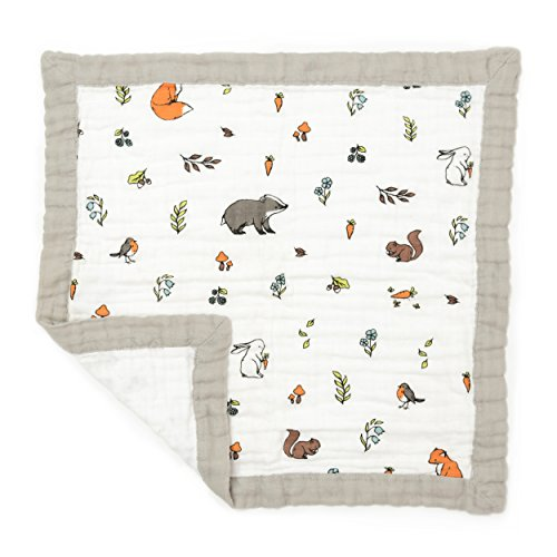 Organic Cotton Muslin Luxury Comforter,Security Blanket for Babies and...