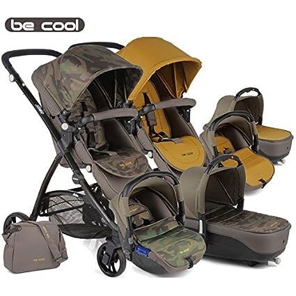 Be Cool - Coche de paseo trío slide 3 cocoon estampado ...