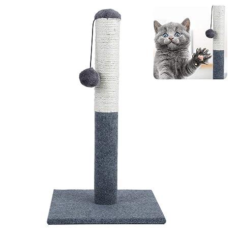 Mekta - Rascador Duradero para Gatos con Cuerda de sisal ...