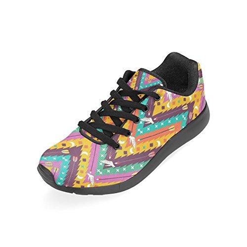 Scarpe Da Corsa Da Donna Winterprint Running Da Jogging Leggero Sportivo Da Passeggio Sneakers Da Ginnastica Etnica Tribù Colomba