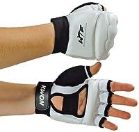 KWON Boxhandschuhe Handschutz Taekwondo WTF, weiß, L, 4009003