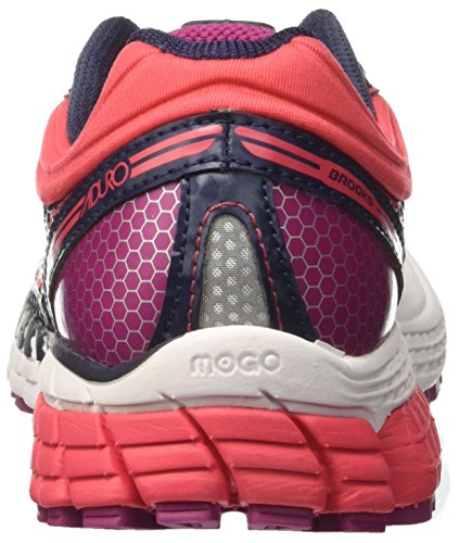 Brooks Aduro 4, Zapatillas De Running, Mujer Gris (Peacoat/teaberry/boysenberry)