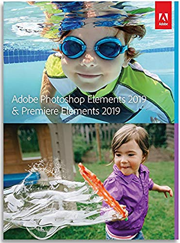 Adobe Photoshop Elements 2019 & Premiere Elements 2019 [PC/Mac Disc] by Adobe