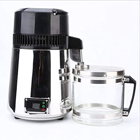 Saiko Destilador de Agua Máquina para el Agua Destilada Casera, 4L ...