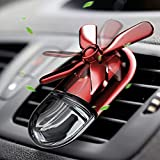WiLEES Car Aromatherapy Essential Oil Diffuser Car Air Freshener Car Fragrance Diffuser Mini