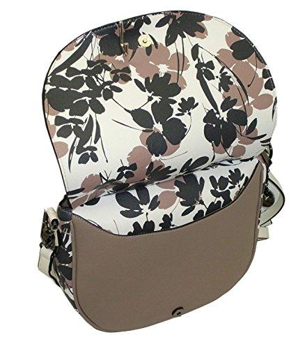 Borsa tracolla YNOT soul shoulder bag grande S009 women bicolore TAUPE