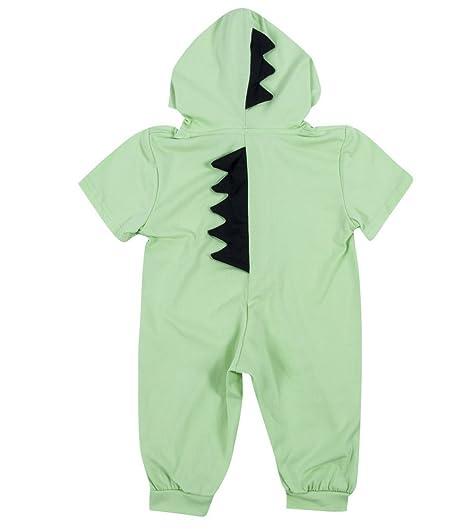 3d207e2d1 Amazon.com  rechange Newborn Infant Baby Boys Girls Short Sleeve ...