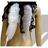 Engelsflügel weiß 30x40 cm Engel White Angel Fee