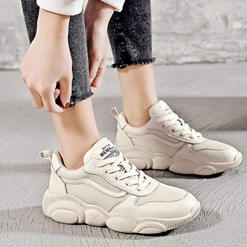 Zapatos Tamaño Zhijinli Deportivo Ins Ligeros Malla Harajuku 5size Casual Calzado Estudiante Wild 6 7 wpqPHnap0