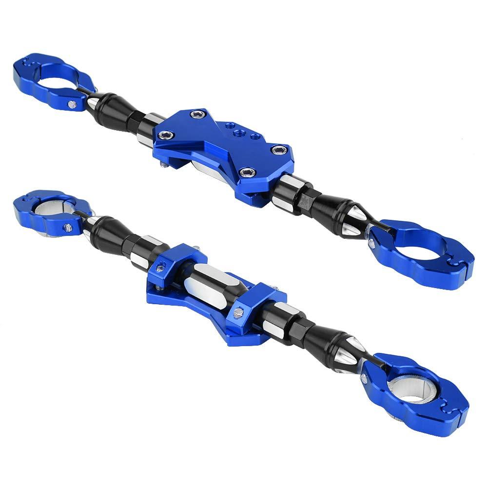 KIMISS CNC Motorcycle Adjustable Balance Bar Universal Strengthen Rod Handlebar Bar Reinforce Lever Red