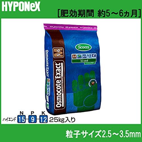 ハイポネックス オスモコート エグザクト 25kg ハイエンド 肥料 15-9-12 B0168263ZO