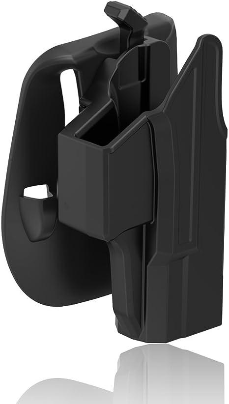 TEGE Glock 19 23 32 - Soporte para pádel (polímero, Cintura ...