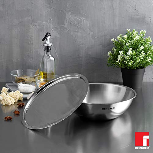 Bergner-Argent-Tri-Ply-Stainless-Steel-Tasra-with-Lid-14-cm-060-litres-Induction-Base-Silver
