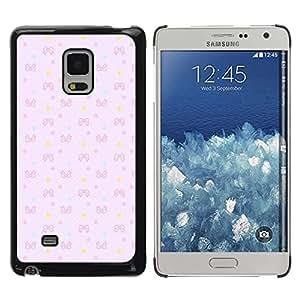 TopCaseStore / la caja del caucho duro de la cubierta de protección de la piel - Yellow Teal Wallpaper - Samsung Galaxy Mega 5.8 9150 9152