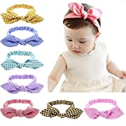 LCY 11 Packs of Baby Girl Cute Headband Head Wrap Hair Band