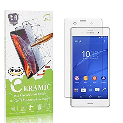The Grafu Screen Protector for Sony Xperia Z3, 9H Hardness Tempered Glass, Bubble Free, Anti Scratch Screen Protector for Sony Xperia Z3, 3 Pack: Baby