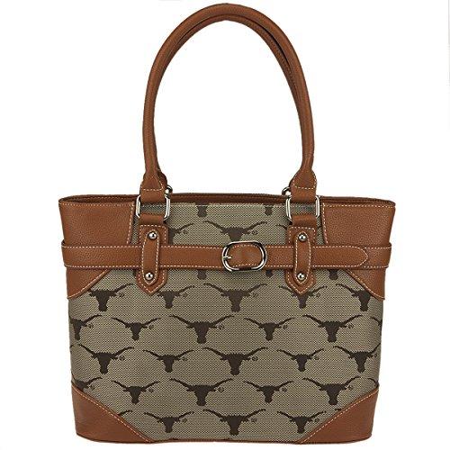 NCAA Texas Longhorns Liberty Academic Handbag, Small by Sandol