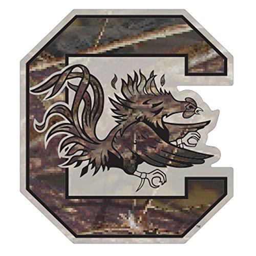 - Craftique South Carolina Decal CAMO C GAMECOCK DECAL 3
