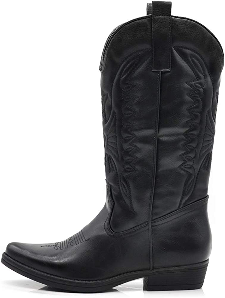 camperos /étnicos DT-16 puntas Texani botas Zapatos de mujer Cowboy Western