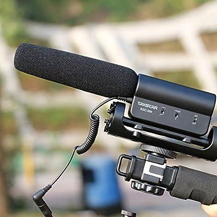 Takstar sgc-598/intervista microfono per Nikon//Canon fotocamera//videocamera DV