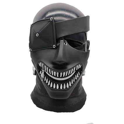 LZX Nueva Tokyo Ghouls Ken Kaneki PVC Cosplay Disfraces Máscara De Halloween
