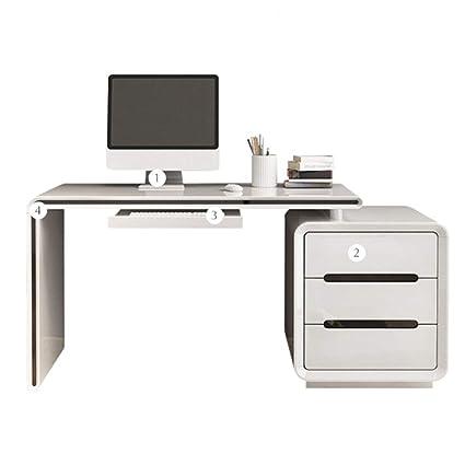 Amazon.com: DBJ Home Life Computer Desk, Bedroom Rotating ...