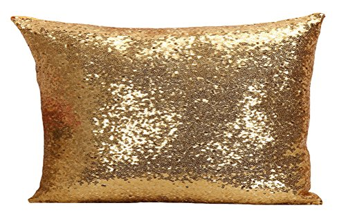 Multi-size Glitter Sequin Throw Pillow Cover Sham Case LivebyCare Cushion Covers Pattern Zipper Pillowslip Pillowcase For Play Room Sofa Couch Chair Back Seat