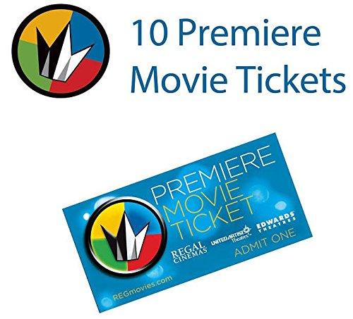 10 Regal Entertainment Group Premiere Movie Tickets (Save $25+)