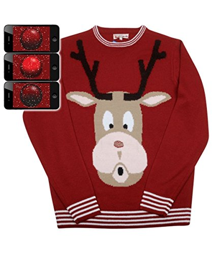 Red N (Rudolph The Red-nosed Reindeer Halloween Costume)