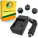 PowerPlanet Sony NP-F530, NP-F550, NP-F750, NP-F960, NP-F970 Chargeur de batterie rapide (comprend l'adaptateur pour automobile et les prises EU et GB, USA)