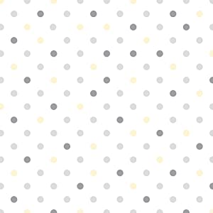 Con-Tact Brand Creative Covering Self-Adhesive Shelf and Drawer Liner, 18-Inches by 9-Feet, Dottie Gray